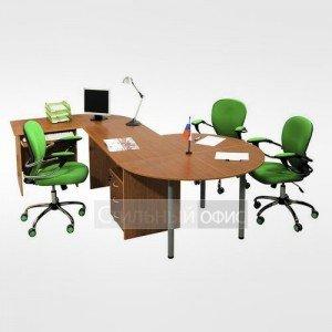 Мебель для офиса для персонала 21.01.х + 21.09.х + 21.18.х + 21.43.х 4 шт + 22.40.1 4 шт + 11.19.1 4 шт