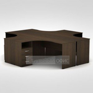 Комплект офисной мебели 3С.041 + 3С.041 + 3С.044 + 3С.044 + 3Т.002 + 3Т.002 + 3Т.002 + 3Т.002 + 3ТП.002 + 3ТП.002 + 3ТП.002 + 3ТП.002 Алсав
