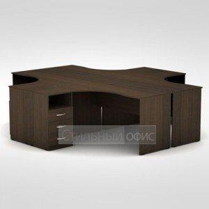 Комплект офисной мебели для персонала 3С.042 + 3С.042 + 3С.045 + 3С.045 + 3Т.002 + 3Т.002 + 3Т.002 + 3Т.002 + 3ТП.002 + 3ТП.002 + 3ТП.002 + 3ТП.002 Алсав
