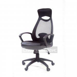 Кресло офисное для руководителя Chairman 840 black Chairman