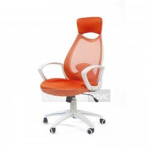 Кресло офисное для руководителя CHAIRMAN 840 white Chairman