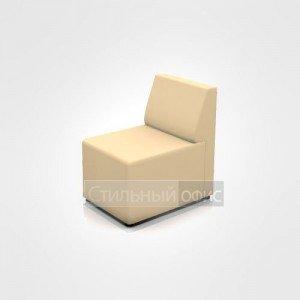 Кресло мягкое без подлокотников офисное для отдыха