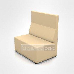 Кресло уголок с средней спинкой офисное