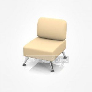 Кресло офисное для отдыха без подлокотников