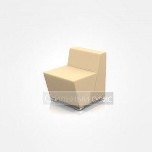 Кресло мягкое с низкой спинкой офисное