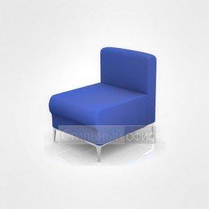 Кресло офисное для отдыха с низкой спинкой
