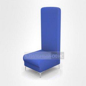 Кресло офисное для отдыха с высокой спинкой