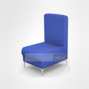 Кресло офисное для отдыха со средней спинкой
