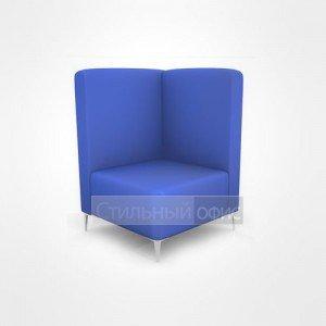 Кресло уголок для отдыха офисный со средней спинкой