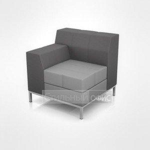 Кресло с левым подлокотником офисное