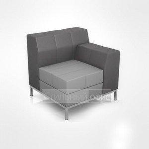 Кресло с правым подлокотником офисное