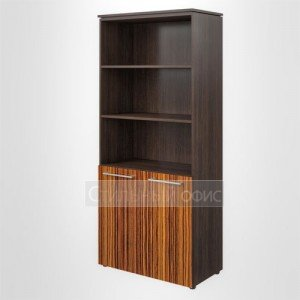 Шкаф высокий широкий полузакрытый офисный для руководителя MHC 85.5 Skyland