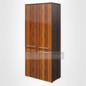 Шкаф высокий широкий закрытый офисный для руководителя MHC 85.3