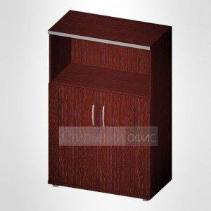 Офисный шкаф для бумаг полузакрытый