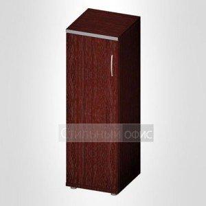 Офисный шкаф для бумаг узкий закрытый