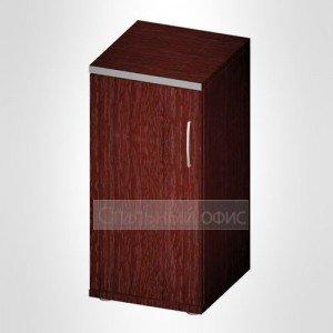Офисный шкаф для документов узкий закрытый