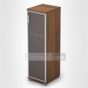 Шкаф со стеклянной дверкой в алюминиевой рамке 6П.015.4 Алсав