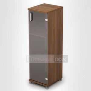 Шкаф узкий средний со стеклянной дверкой 6П.015.3 Алсав