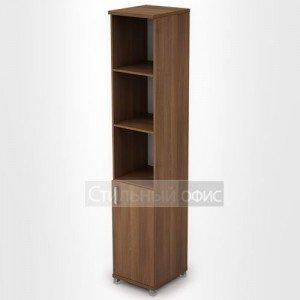 Шкаф офисный узкий высокий полузакрытый 6П.005.2 Алсав