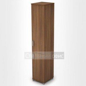 Шкаф офисный узкий высокий с дверками 6П.005.5 Алсав