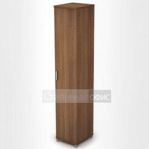 Шкаф офисный узкий высокий закрытый 6П.005.1 Алсав
