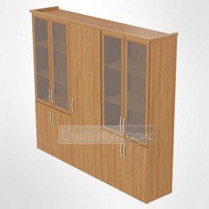 Комплект шкафов в кабинет руководителя 40.24 40.23 40.24