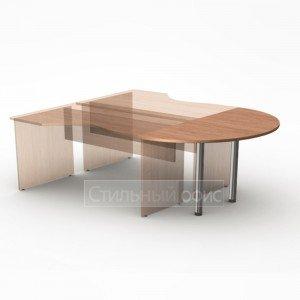 Приставка к офисному столу 144х72