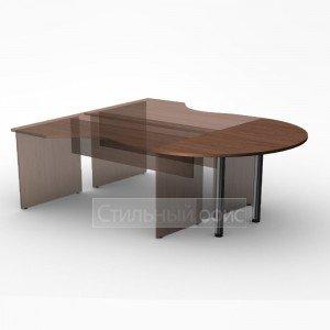 Приставка к офисному столу 144x72