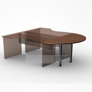 Приставка к офисному столу 146х73