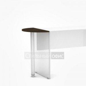 Приставка полукруглая к офисному столу 3СЭ.014 Алсав