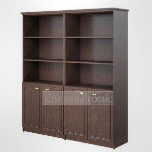 Шкаф высокий широкий полузакрытый офисный для руководителя RHC 180.5 Skyland