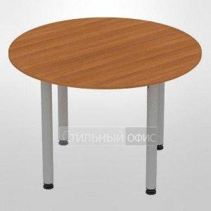 Стол офисный круглый на металлокаркасе