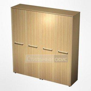 Шкаф комбинированный (закрытый-одежда) в кабинет руководителя МЕ 363 Сторосс