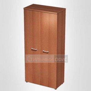 Шкаф для одежды с дополнением в офис для кабинета руководителя 791