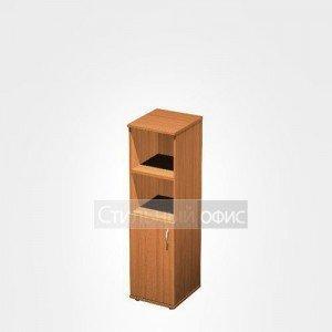 Шкаф офисный для документов узкий полузакрытый