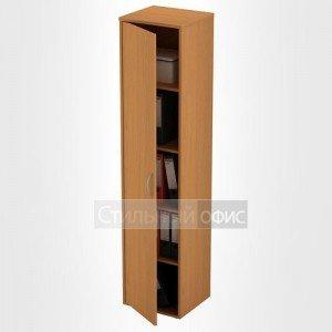 Шкаф офисный для документов узкий закрытый