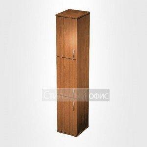 Шкаф офисный для документов 3-дверный узкий