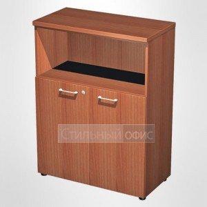 Шкаф для документов средний полузакрытый в офис для кабинета руководителя 763