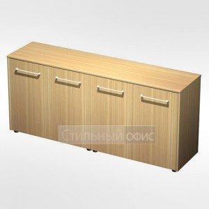 Шкаф для документов низкий закрытый( стенка из 2 шкафов) в кабинет руководителя МЕ 306 Сторосс