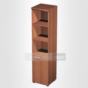 Шкаф для документов узкий полузакрытый в офис для кабинета руководителя 787