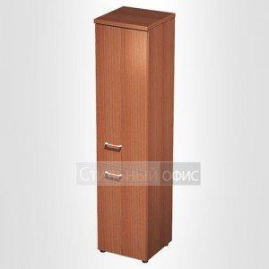 Шкаф для документов узкий закрытый в офис для кабинета руководителя 792