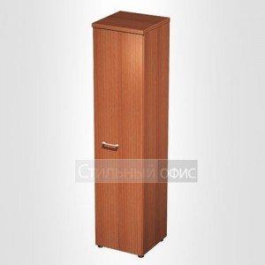Шкаф для документов узкий закрытый в офис для кабинета руководителя 0784