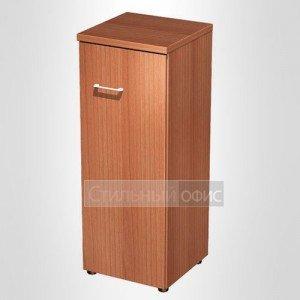 Шкаф для документов средний узкий закрытый в офис для кабинета руководителя 765