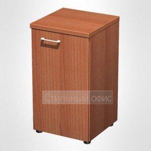 Шкаф для документов узкий низкий закрытый в офис для кабинета руководителя 753