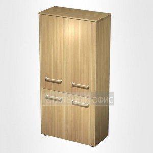 Шкаф для документов закрытый 4-дверный в кабинет руководителя МЕ 345 Сторосс