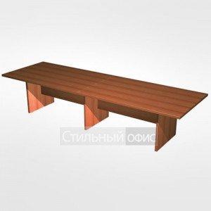 Стол для переговоров составной в офис для кабинета руководителя 782