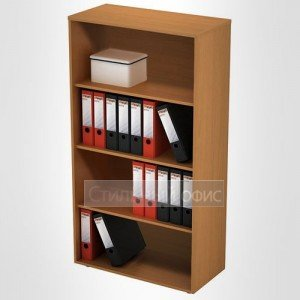 Шкаф офисный для документов открытый средний