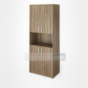 Шкаф широкий высокий с нишей