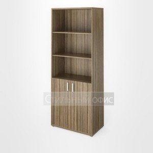 Шкаф широкий высокий с низкими дверками