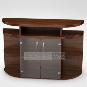 Шкаф средний с тонированным стеклом 4ШН.011 Алсав